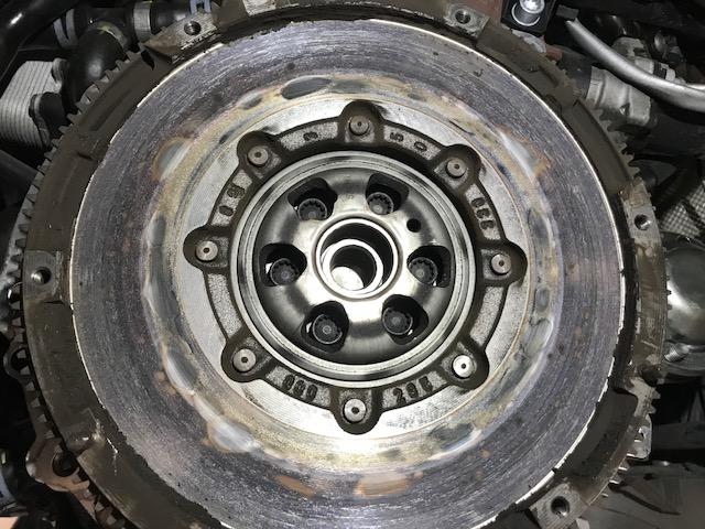 Audi Q worn dual mass